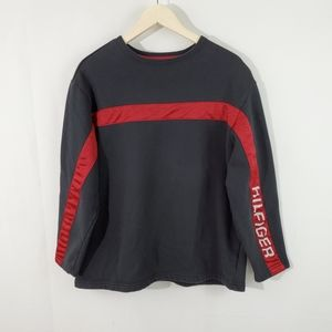TOMMY HILFIGER Men's Crewneck Spell Out Sweater S